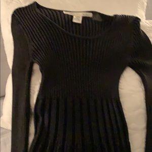 Max Studio Dresses - Grey ribbed dress